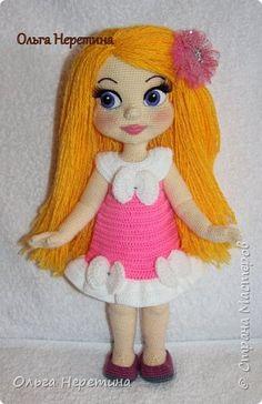Куклы Вязание крючком Новые наряды Золушки Пряжа