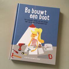 Nu te koop: Bo bouwt een boot, een boek voor makers! – Lekker Samen Klooien