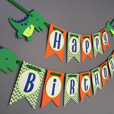 Dinosaur Birthday Party, Diy Birthday, Birthday Party Decorations, Birthday Boys, Birthday Parties, Chevron Cards, Happy Birthday Signs, Happy 1st Birthdays, T Rex