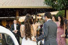 Fotografia de casamento - chuva de arroz Belo Horizonte