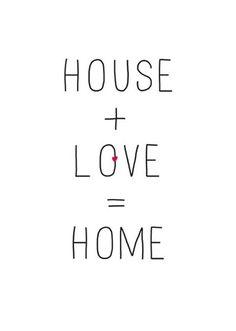 Happy page uit het Woonbeurs huis van vtwonen 2014: House + love = home #quote