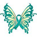 teal wings to add to my tattoo for Mom