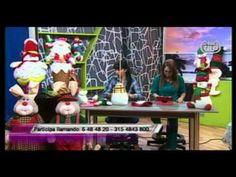 Teleamiga - Aprenda y Venda - 29 Noviembre 2012 - YouTube U Tube, Dyi, Hobbit, Christmas Decorations, Xmas, Felt, Diy Crafts, Dolls, Painting