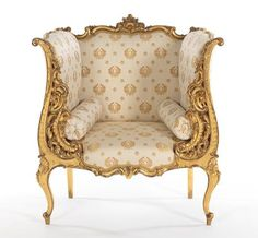 217. A French Giltwood Chair, Matching the Settee - May 2013 - ASPIRE AUCTIONS