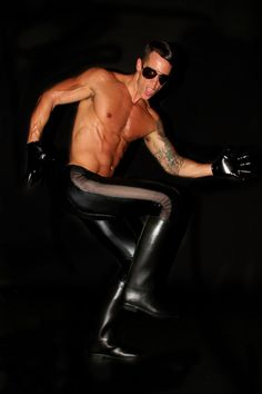 I'm all about spandex fetish gear!