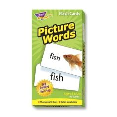 Picture Sight Word Flashcards Speech Therapy Special Needs Autism Skills To Learn, Learn To Read, Second Grade Sight Words, Word Skills, Online Art School, Sight Word Flashcards, Star Students, Vocabulary Building, Pre Kindergarten