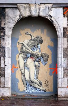 Zilda, Paris, France, graffiti art, street artists, urban murals, urban art, mr pilgrim art.