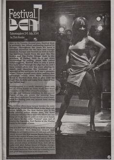 The Excitements @ festivalbeat italy on Banana magazine