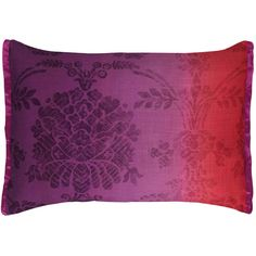 Designers Guild Sukumala Cushion - Magenta ($47) ❤ liked on Polyvore featuring home, home decor, throw pillows, pillows, purple, purple accent pillows, damask throw pillows, purple toss pillows, purple throw pillows and vintage home accessories