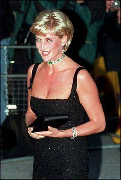 Diana, Princesse de Galles, à Londres le 1er juillet 1997