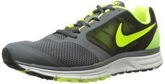 Nike Zoom Vomero 8 Men's Dark Gray/Volt Charcoal Running Shoes #Running #Nike #Zoom #Mens #Shoes #Deals #Sales #ShopSneakerKingdom  www.sneakerkingdom.com