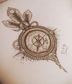 #Tattoo #Compass