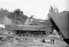 japanese Type 3 Ka-Chi amphibious tank