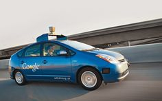 10 Amazing Vehicles of the Future - Google's doing the right thing by presenting a car that can drive on its own.