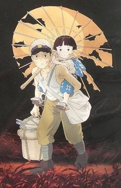 If you have never seen an anime film, let this be the one you do see-- 'Grave of the Fireflies'