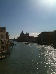 Lovely view of the Grand Canal, Venice