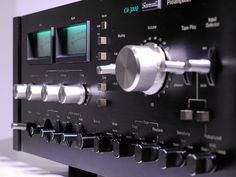 """Sansui - CA 3000 ,Vintage Audiophile Stereo Preamplifier"" !...  http://about.me/Samissomar"
