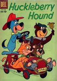 Huckleberry Hound-Remember the days when dogs, cats,  & bears could talk.