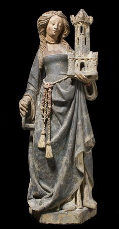 Saint Barbara | North French | The Met