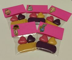 Doc Cartoon inspired party favor bags by KrazyKoolKrayons on Etsy