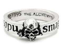 ☠❥༄❥☠ Great Wish Alchemists Skull Ring, http://www.amazon.com/dp/B0043F8KPU/ref=cm_sw_r_pi_awdm_QJdMub01C1C55