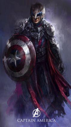 Dark Realm Avengers #CaptainAmerica #Marvel