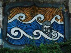 wave graffiti