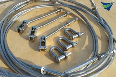 Tensile Structure membrane plates and tensioning components. @tensilesystems