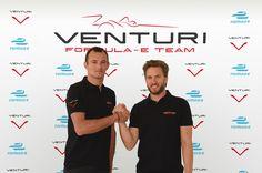 Formule E: Heidfeld et Sarrazin, le duo de Venturi