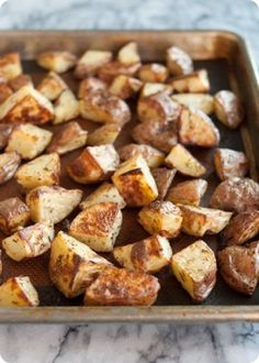 My FAVORITE crispy, garlic roasted potatoes!  Whole foods plant based diet--one way to LOSE WEIGHT you probably have not considered...