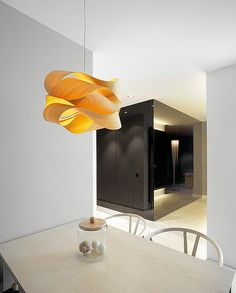 Pendant lamp / original design / wooden - LINK SG : SP by Ray Power - Lzf-Lamps Contemporary Pendant Lights, Modern Lighting, Lighting Design, Pendant Lamp, Pendant Lighting, Berlin Design, Design Light, Interior Minimalista, Wood Veneer