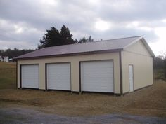 """Building Dimensions: 30' W x 40' L x 10' 4"""" H (ID# 298)  Visit: http://pioneerpolebuildings.com/portfolio/project/30-w-x-40-l-x-10-4-h-id-298-total-cost-13581  Like Us on Facebook! www.facebook.com/... Call: 888-448-2505 for any questions!"""