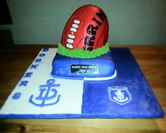 Dockers AFL 50th Birthday Cake :)
