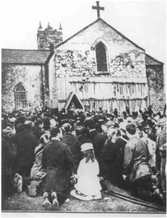 Apparition of BVM at Knock, Ireland, 1879