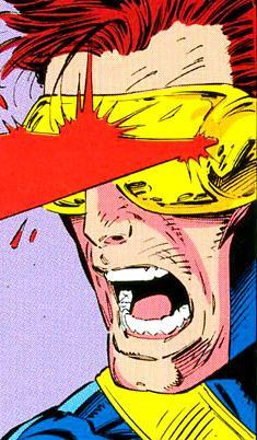 Cyclops by Jim Lee [Marvel] Marvel Comics Art, Marvel Comic Universe, Marvel Heroes, Marvel Cyclops, Captain Marvel, Dc Comics Poster, Ms Marvel, Comic Book Characters, Marvel Characters