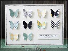 Karten mit Schmetterlingen von Mary-Jane für www.danipeuss.de