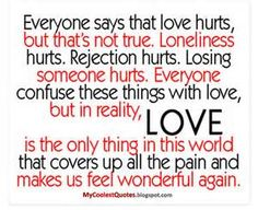 love hurt quotes | Famous Quotes