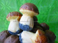 Ciasteczka grzybki z patelni