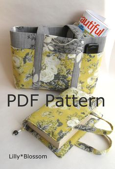 Bible cover and tote set
