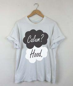 Okay Okay Calum Hood T-shirt, Calum Hood 2015, Calum Hood 5SOS, Calum Hood Quotes, Calum Hood Tattoo, Men and Women Shirt by RizalDesign on Etsy