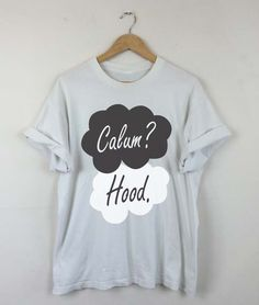Okay Okay Calum Hood T-shirt, Calum Hood 2015, Calum Hood 5SOS, Calum Hood Quotes, Calum Hood Tattoo, Men and Women Shirt by RizalDesign on Etsy