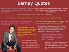 How I met your mother- Barney quotes