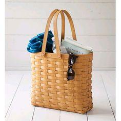 Large tote basket 12x4x11.5