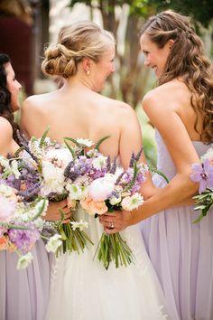 Lavender Texas Wedding