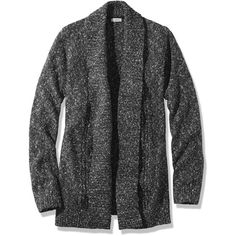 L.L.Bean Textured Stitch Open Cardigan ($50) ❤ liked on Polyvore featuring tops, cardigans, sweaters, jackets, chunky cable knit cardigan, stitch top, cotton cardigan, textured top and open cardigan