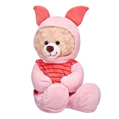 Online Exclusive Happy Hugs Teddy Disney Piglet Gift Set, , hi-res Teddy Bear Gifts, Teddy Bear Clothes, Cute Stuffed Animals, Baby Animals, Teddy Bear Cartoon, Teddy Bears, Giant Teddy Bear, Build A Bear Outfits, Teddy Bear Pictures