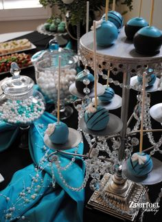 breakfast at tiffany's party | Breakfast at Tiffany's / Audrey Hepburn Inspired Bridal Shower! | Bulk ...