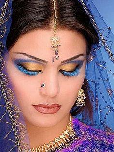 arab makeup   belle femme hindoux