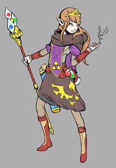 Zelda Magician Created by Joakim Sandberg Joakim's piece...