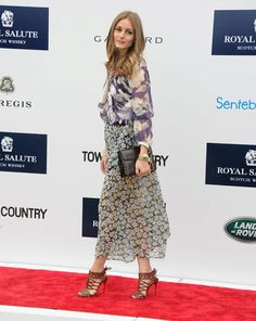 Olivia Palermo at the 2013 Sentebale Royal Salute Polo Cup.